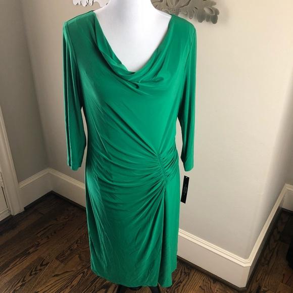 b1d3182a68a0 Tahari Dresses   Emerald Green Dress   Poshmark